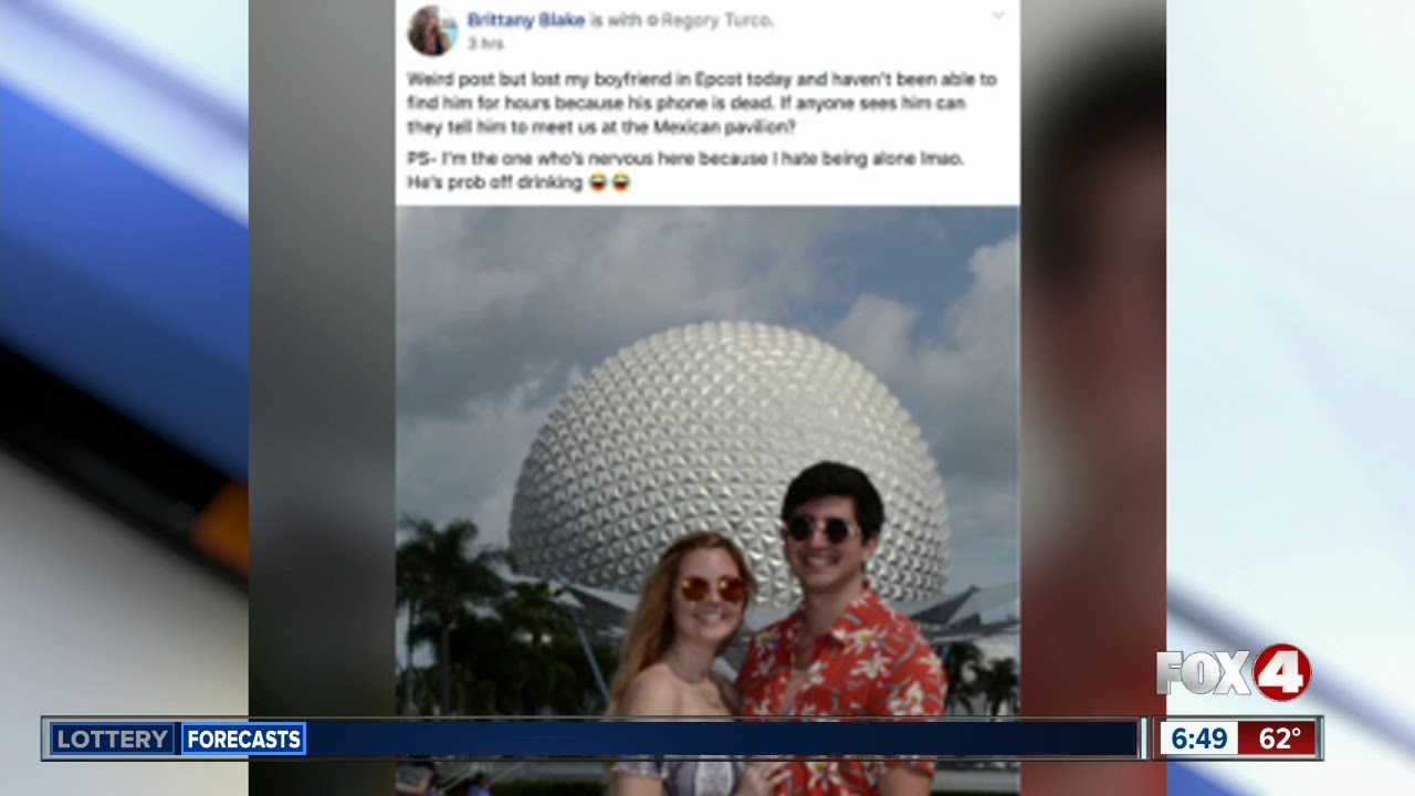 Boyfriend lost at Epcot, Facebook users unleash mass humor to find him