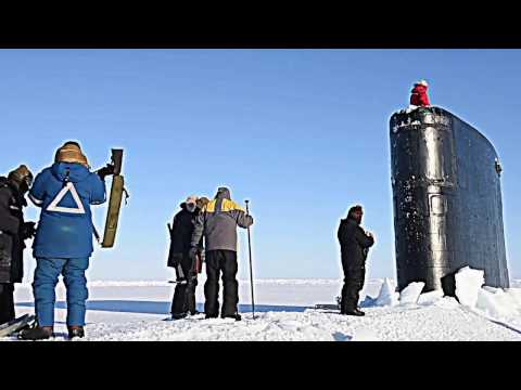 American Submarines On The Arctic Ocean