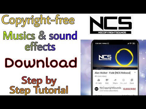 How To Download Copyright-free Musics For Your YouTube Videos||NCS Sounds||Technical Talks