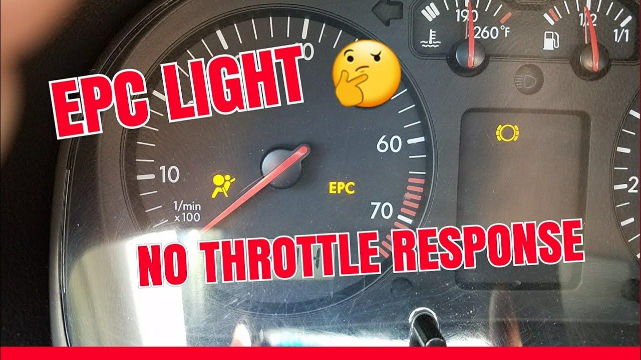 Vw 1 8t Epc Light Fix No Throttle Response Jetta Gti Audi Mk4