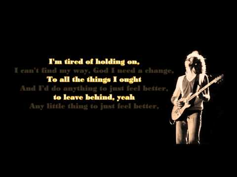 Santana ft. Steven Tyler - Just Feel Better (lyrics)