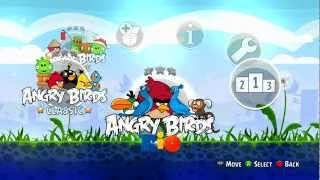 Angry Birds Trilogy (Classic) - Xbox 360 Gameplay
