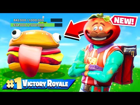 FOOD FIGHT LTM *NEW* Game Mode in Fortnite Battle Royale