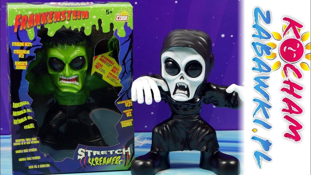 Stretch Screamers • Figurki Interaktywne • Duch, Frankenstein i Mumia • Cobi • Unboxing