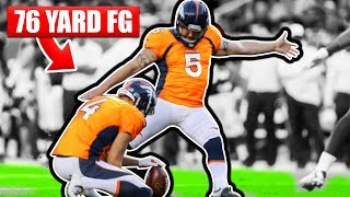 NFL Records You Didn't Know Exist