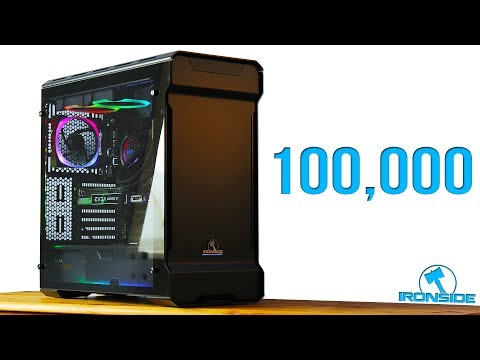 100,000 SPECIAL - Ironside Computer CONQUEROR Unboxing + Ironside Gaming PC Giveaway [CLOSED]