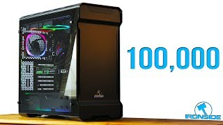 100,000 SPECIAL - Ironside Computer CONQUEROR Unboxing + Ironside Gaming PC Giveaway [OPEN]