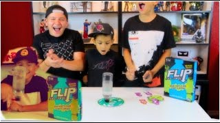 capped it new flip game flip challenge from hasbro gaming