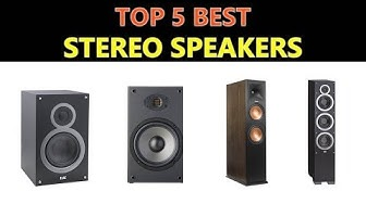 Best Stereo Speakers 2020