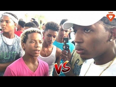 ME ROBE A TU MUJER!! Kiko Flow Vs Chandel (Hijo de Nfasis) 😈🔥 Batalla Freestyle En San Cristobal