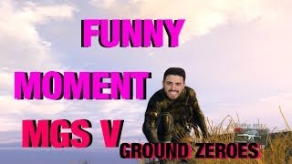 "FUNNY BUG MOMENT [ Metal Gear Solid V ""Ground Zeroes"" ]"