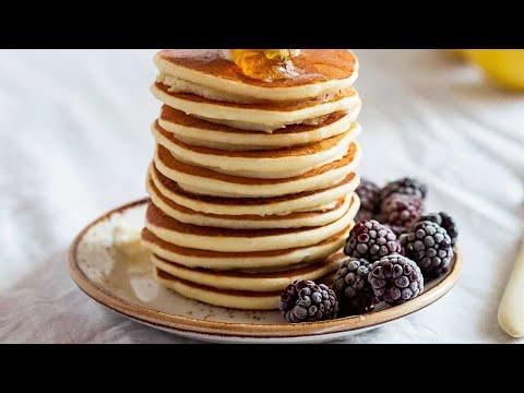 flourless-vanilla-protein-pancakes