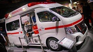 Nissan Caravan Nv350 救急車 #Tms2017