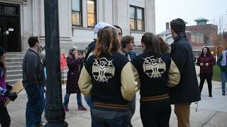People chant 'love, not hate' at Baraboo rally