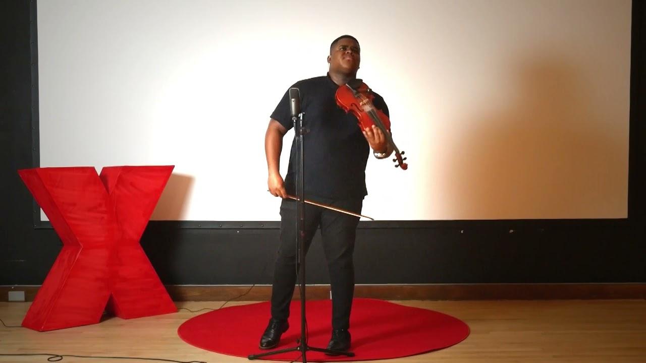 When You Believe  | Patrick Bogui (Dr. Violin) | TEDxUConnFarmington