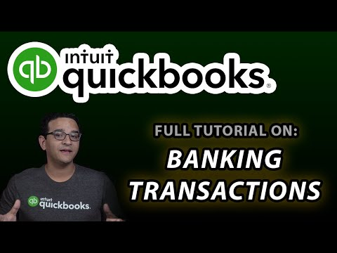 QuickBooks Online: Banking Transactions (Advanced Tutorial)