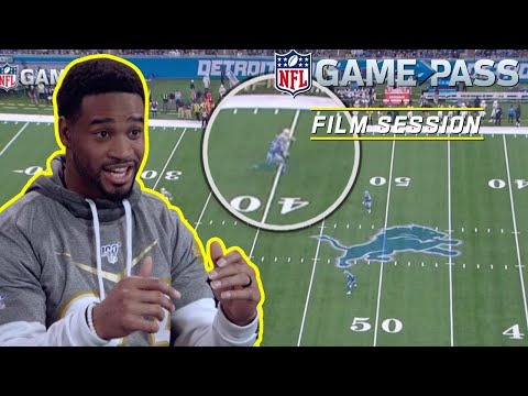 Darius Slay Breaks Down Covering Top Receivers | NFL Film Session