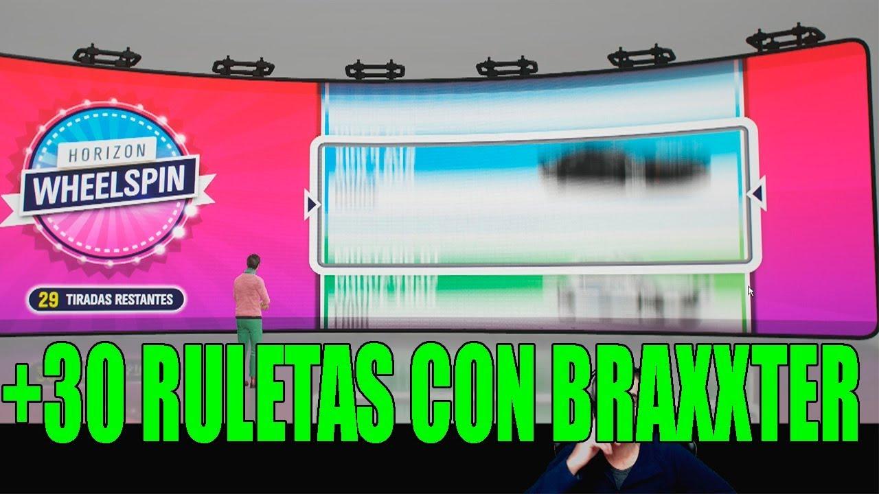 +30 RULETAS CON BRAXXTER | FORZA HORIZON 4