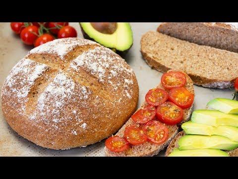 Whole Grain Wheat Spelt Bread | Healthy Bread
