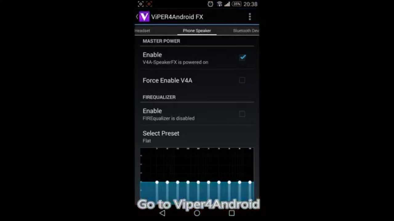 How to use Viper4Android with Poweramp - Settings for Strong Bass