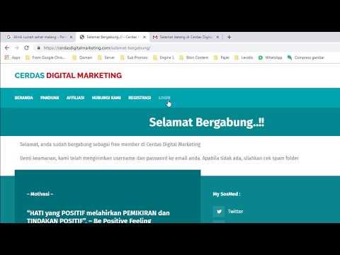 Cara Mendaftar Member Cerdas Digital Marketing thumbnail