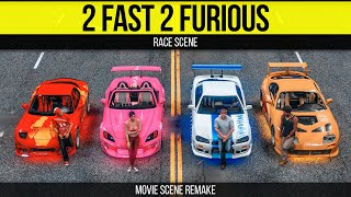 Grand Theft Auto 5 - 2 Fast 2 Furious Race Scene