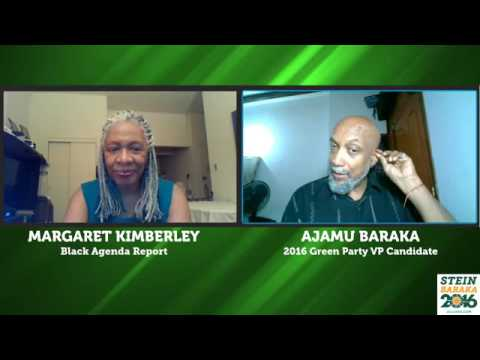 Margaret Kimberley and Ajamu Baraka Live Video