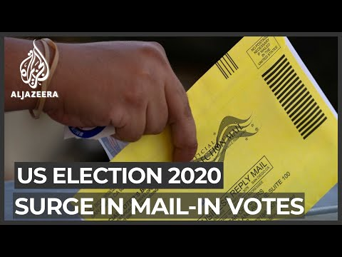 Mail-in ballots: Americans may have to wait longer for results