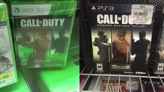NEW MODERN WARFARE TRILOGY- OLD GEN ONLY PS3 and XBOX 360 Modern Warfare Bundle MW/MW2/MW3
