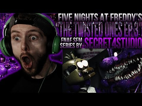 "Vapor Reacts #780 | [SFM] FIVE NIGHTS AT FREDDY'S ""The Twisted Ones Ep 3"" by Secret4Studio REACTION! thumbnail"