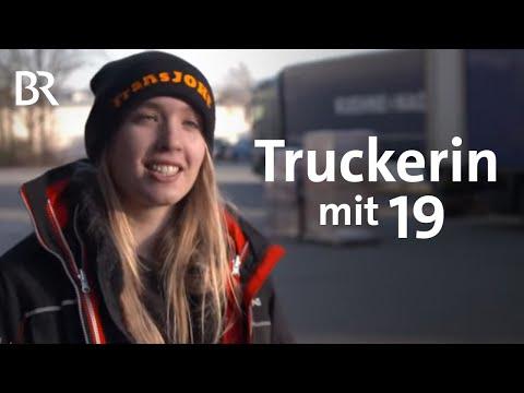 Auf Achse: Niederbayerische Truckerin mit 19 | Schwaben & Altbayern | BR