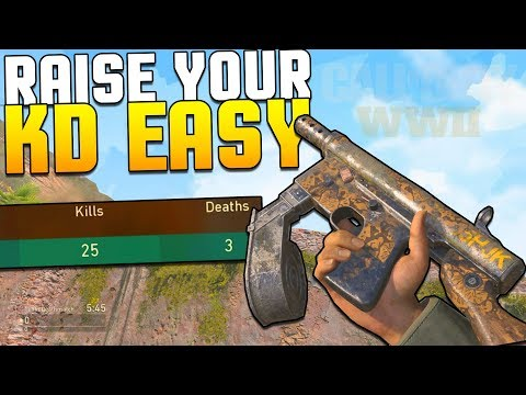 Thumbnail: How To NEVER DIE AGAIN in COD WW2 - TIPS & TRICKS - [Call of Duty World War 2] Gameplay