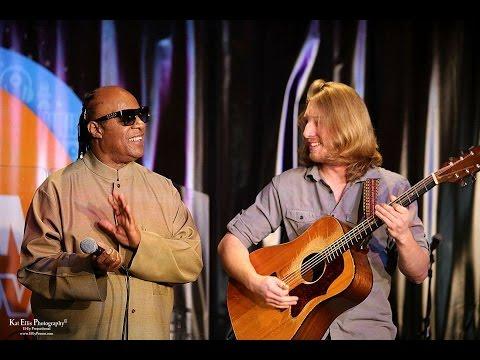 Stevie Wonder Surprises Grayson Erhard Onstage & Sings With Him