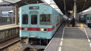 西日本鉄道 5000形 19編成+28編成 西鉄久留米駅