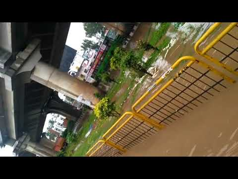 unbelievable BANGALORE FLOODS | TODAY AT ELECTRONIC CITY  | OCTOBER 5TH 2017
