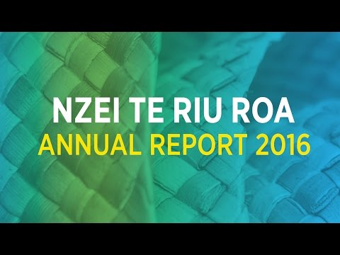 NZEI TE RIU ROA ANNUAL REPORT 2016