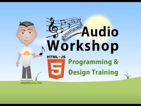Audio Workshop 2 Seek and Volume Range Slider JavaScript Tutorial