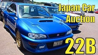 Tokyo Car Auction - Subaru 22B, Nissan R34 GT-R, Nissan Hakosuka, and more