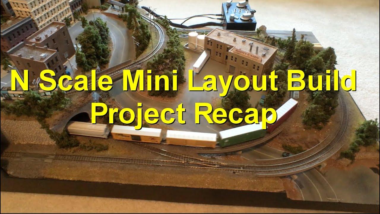 N Scale Mini Layout Build Recap