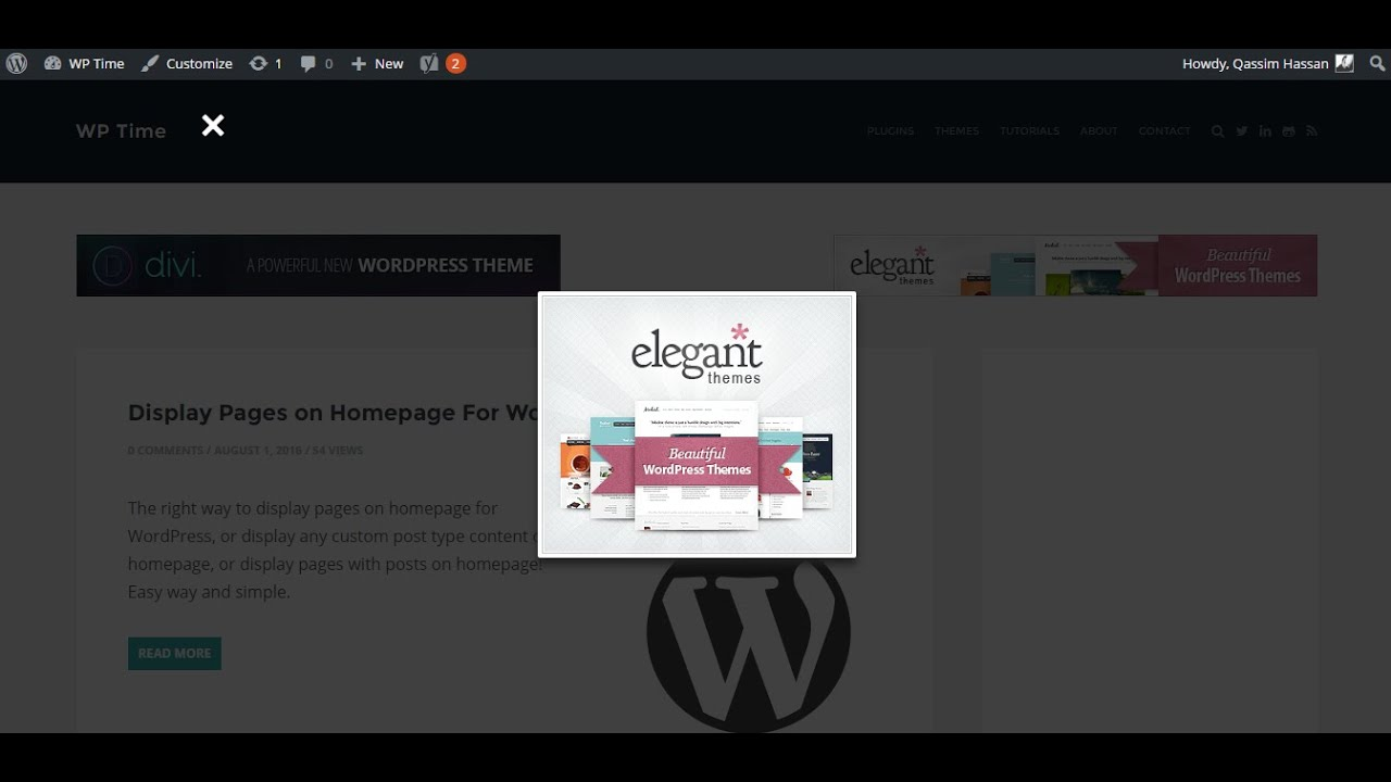 Display Unlimited PopUp Ads in WordPress using PopAd plugin