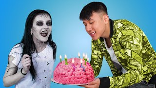 What If Your BFF Is a Zombie / 8 Zombie Birthday DIYs