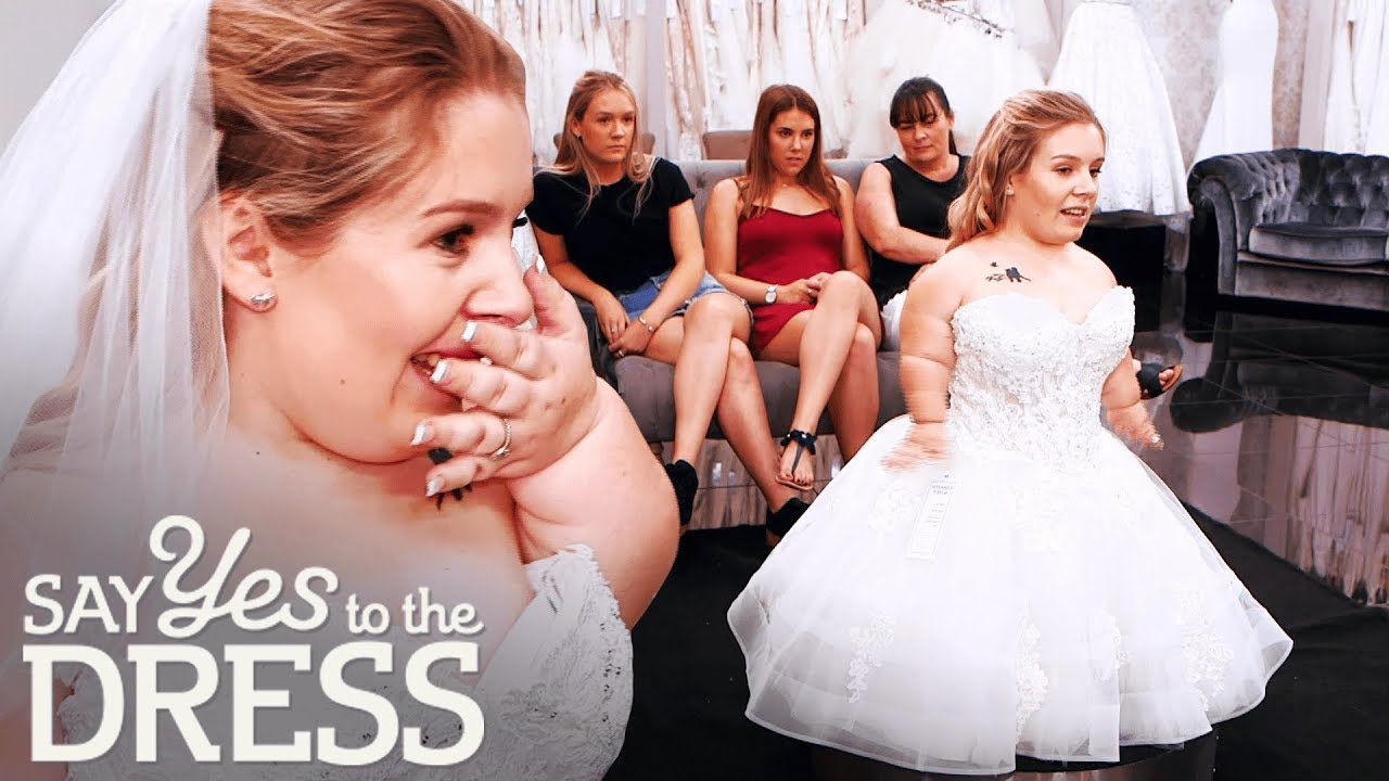3 Foot Bride Gets Emotional After Finding The Dress Of Her