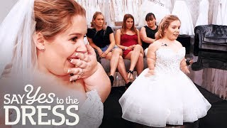 3 Foot Bride Gets Emotional After Finding the Dress of Her Dreams! | Say Yes To The Dress UK