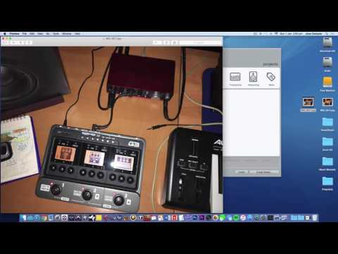 Epiphone Les Paul Standard, Roland Cube 30, Boss ME 25 - Practice in the Garage! from YouTube · Duration:  3 minutes 53 seconds
