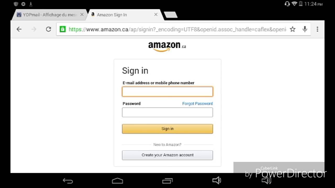 Create amazon ca account - Comment Avoir Tout Gratuit Sur Amazon Android