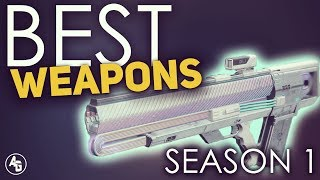 Destiny 2: Top Weapons of Season 1 you should not get rid of