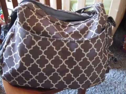 my bargain jj cole diaper bag review what 39 s inside youtube. Black Bedroom Furniture Sets. Home Design Ideas