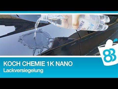 83metoo koch chemie 1k nano lackversiegelung auto. Black Bedroom Furniture Sets. Home Design Ideas