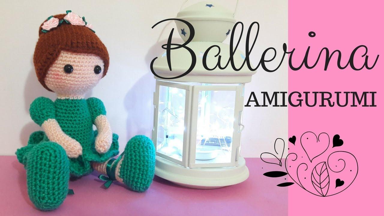 Crochet Ballerina Doll Amigurumi - Free Pattern : Crochet ... | 720x1280