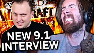 Not Looking Good! Asmongold Reacts to WoW Game Director New Interview | By Preach (Shadowlands 9.1)